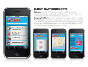 Mastermind App Design